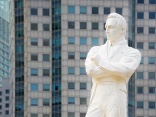 Tomas Stamford Raffles monument, Singapore