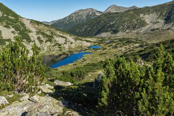 Amazing landscape with Chairski lakes, Pirin Mountain, Bulgaria