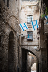 alte Gasse in Jerusalem