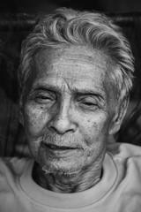 Portrait of Asian old man
