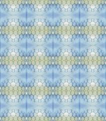 Absract geometrical pattern inside old children kaleidoscope