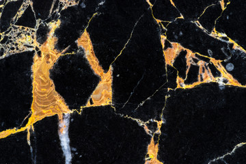 golden black marble pattern slab surface for design
