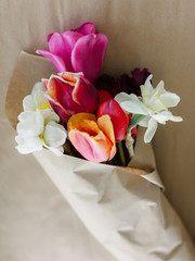 Wrapped Fresh Flowers