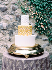 Beautifully decorated cake