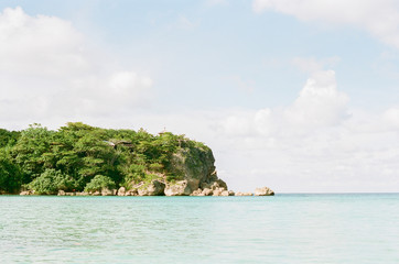 Jamaican beach cove