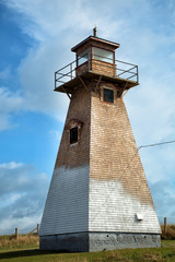 Cape Tryon lighthouse in Prince Edward island