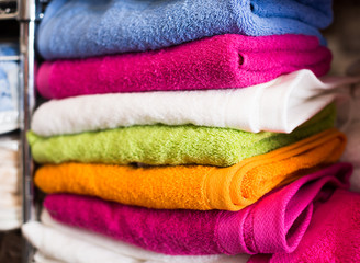 different cotton colour towels