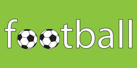 Football soccer logo