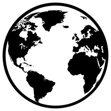 Black web vector icon