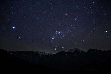 南アルプス甲斐駒ケ岳の星空