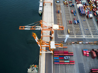 Container Terminal and Crane