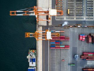 Container Terminal and Container Ship