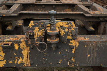 eisenbahnwagen kupplung detail