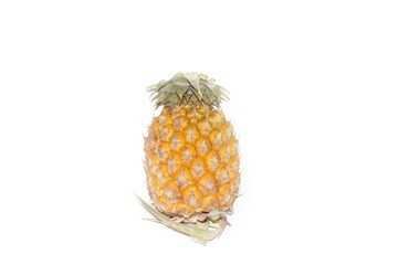 Pineapple on white background.