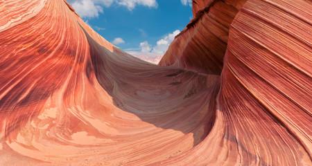 Amazing canyon the Wave, Utah - Arizona border.
