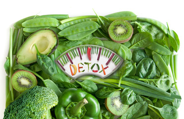 Detox weighing scales concepts