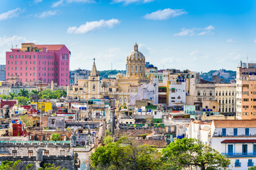 Canvas Prints Havana Havana, Cuba downtown skyline.