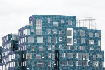Turquoise Building in Copenhagen Denmark