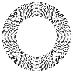 Abstract Circular Designelement on white background07