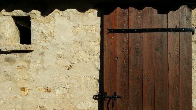 Renovated Barn Door