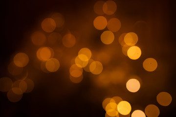 beautiful Christmas lights Bokeh.
