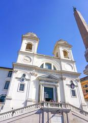 The Trinita dei Monti in Rome, Italy