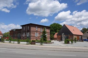 Forsthaus und Rathaus Eggesin