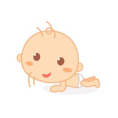 Hold head up baby. Cute baby milestone.