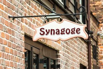 Schild 275 - Synagoge
