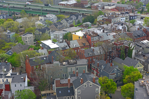 Marvelous Boston Charlestown Houses Aerial View From The Top Of Interior Design Ideas Oteneahmetsinanyavuzinfo