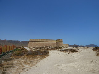 Los Escullos, Cabo de Gata - Nijar en Almeria (Andalucia,España)