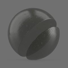 Cured, transparent resin