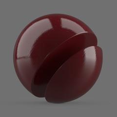 Wet red resin