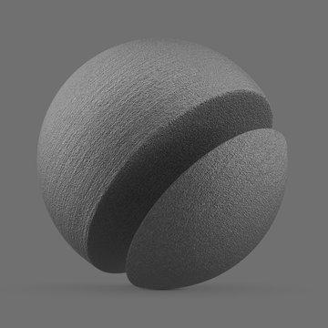 Light grey polished alumide