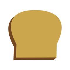 Isolated bread design