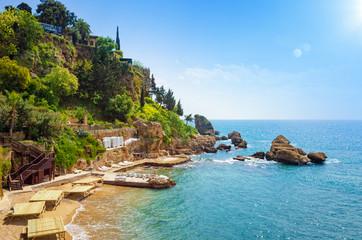 Mermerli beach in Antalya, Turkey
