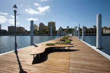 West Palm Beach City dock