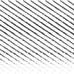 Diagonal stripes seamless pattern. Vector lines texture. Grunge brush strokes