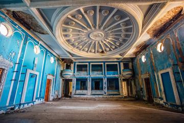 Old abandoned winter theater, Gagra, Abkhazia