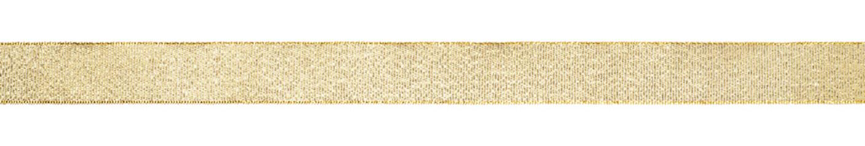 Golden ribbon isolated on white background