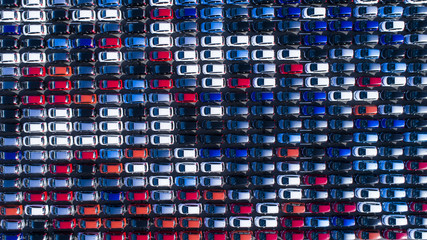Automobile export  wharf