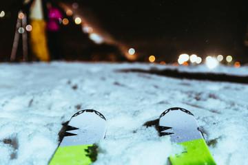 ski close up