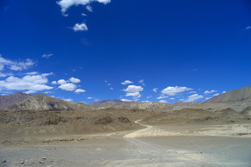 The Majestic Karakoram range, Leh