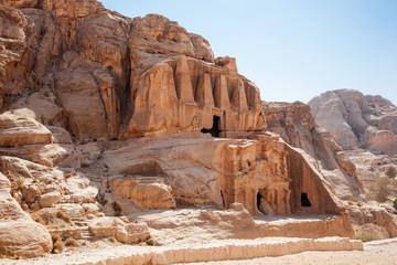 Ancient building in Petra