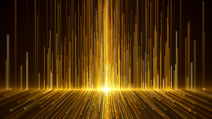 Gold Awards Background. Wall mural