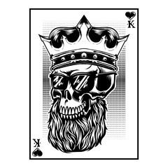 Skull Artwork graphic vector for t-shirt