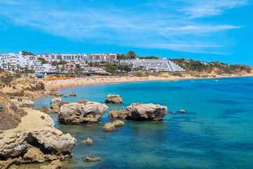 Oura beach. Albufeira, Portugal
