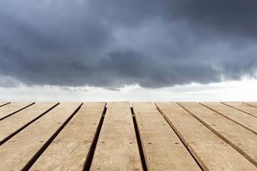 Hintergrund mit Wolken