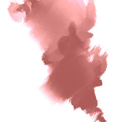 Abstract inkblot background.