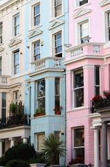 Notting Hill houses in London, UK